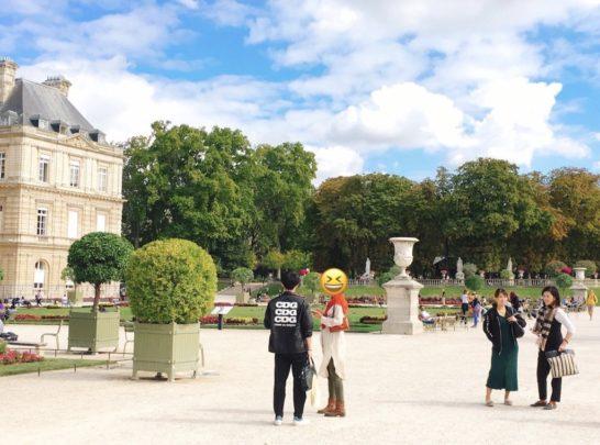 パリの合宿風景